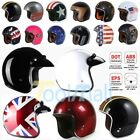 DOT Torc T50 3 4 Open Face Motorcycle Scooter Helmet Cafe Racer Harley S M L XL
