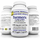 Turmeric Root Supplement Curcumin with Bioperine 1300mg Tumeric Joint 180 Caps