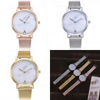 Fashion Women's Casual Quartz Stainless Steel Band Watches Analog Wrist Watch