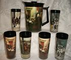 INTAGE 7PC WEST BEND THERMO-SERV INSULATED PITCHER AND TUMBLER SET DECLARATION
