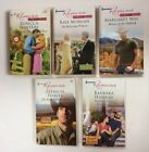 HARLEQUIN ROMANCE WESTERN NOVELS Lot of 5 PB 3 are Larger Print EXCELLENT