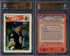 BGS 9.5 1988-89 O-Pee-Chee #166 Glen Wesley RC POP9 Boston Bruins G00 1822