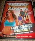 NEW The Biggest Loser The Workout Last Chance Workout DVD 2009 Weight Loss