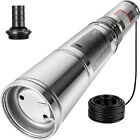HD Deep Well Pump 1 2HP Stainless Steel Submersible Sump Pump 150ft 115v 25 gpm