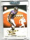 2003 Topps Pristine Terrell Suggs # 1449 Rookie Refractor Uncirculated Baltimore