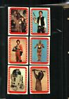 1977 Topps Star Wars Sticker Card Set OF 11 Series4 Green NEAR MINT TO MINT