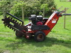 Ditch Witch 1030 Walk Behind Self Propelled Trencher Trenching Machine Digger