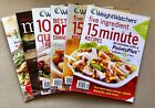Lot 6 WEIGHT WATCHERS Quick  Easy Menus One Dish 50 Points Meals 5 Ingredient