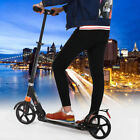 2 Wheels Folding Portable Adult Scooter Adjustable Suspension Push Kick Scooters