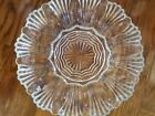 Vintage Cut Glass Ruffled Deviled Egg Plate With Relish