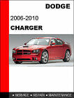 2006 2007 2008 2009 2010 Dodge Charger Service Repair Manual