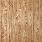 Orange brown gold wood planks boards Wallpaper textured wall coverings rolls 3D