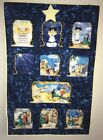 Nativity Play Christmas Wall Hanging Quilt