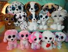 Lot of 12 TY BEANIE BOOS Puppy Dogs NWT 6