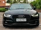 Audi A4 S line Avant 58 20 TDI AUTO stunning stanced stance 2012 facelift