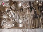 200+ Pc Mixed Lot Silverplate/Antique Flatware/Serving, Craft Lot