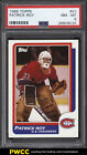 1986 Topps Hockey Patrick Roy ROOKIE RC #53 PSA 8 NM-MT (PWCC)