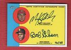 2012 TOPPS HERITAGE REAL ONE DUAL AUTOGRAPH MATT HOLLIDAY BOB GIBSON 16 25 SP