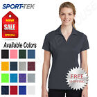 Sport Tek Womens 100 Polyester Dri Fit Performance Polo Golf Shirt M LST640
