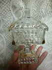 Indiana Glass RARE Gold Flash WEDDING Covered Candy Dish Compote 6 1/2'' X 3 3/4
