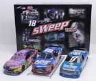 KYLE BUSCH 18 2017 BRISTOL WIN SWEEP SET 1 24 SCALE NEW IN STOCK FREE SHIP