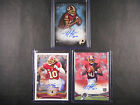 Robert Griffin III Lot of 3 autograph Redskins auto 150 260