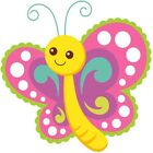30 Custom Magic Butterfly Personalized Address Labels