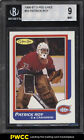 1986 O-Pee-Chee Hockey Patrick Roy ROOKIE RC #53 BGS 9 MINT (PWCC)