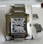 Mint Condition Cartier Tank Francaise Large 2302 Watch Automatic w/ Box