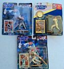 Starting Lineup Lot of 3 MLB Mark Grace w/Coin, Mike Piazza, Mark McGwire NIB