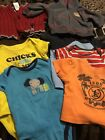 Baby Boy Clothes Lot Shurts Bodysuits Hoodie Sweater Size 3-6 Months