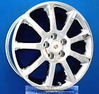 CADILLAC CTS STS DTS 18 INCH CHROME WHEELS 18 RIMS DEVILLE SEVILLE OEM 18X80