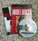 Andrei Rublev DVD 1999 Criterion Collection Tarkovsky OOP COMPLETE Russian