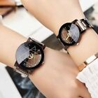 Large Face PU Leather Analog Watch Geneva Women Strap Quartz Wrist Watches Cheap