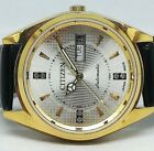CITIZEN AUTOMATIC MEN,S GOLD PLATED SILVAR DIAL VINTAGE JAPAN MADE WATCH RUN 88