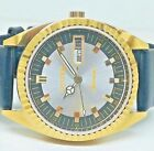 citizen automatic men's gold plated SILVAR  dial vintage japan made watch run 25