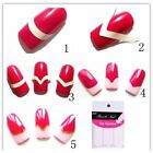 1pcs Nail Sticker French Tips Guide Manicure Nail Art Decals Form Fringe Nail Ar