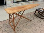 vintage ironing board
