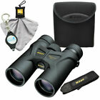 Nikon Prostaff 3S 10x42 Binoculars with Case Cleaning Cloth and Keychain Light