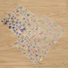 1Sheet Clear Stickers Crystal Decorative Transparent Scrapbook Diary Book Decor