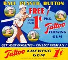 1933 Tattoo Orbit Baseball Cards 10