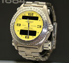 BREITLING EMERGENCY 43mm TITANIUM YELLOW DIAL WATCH NMNT BOX & PAPERS E76321