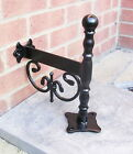 WALL MOUNTED,victorian style classic boot scraper,wrought iron ,blacksmith made