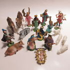 Vtg Fontanini Depose Italy Christmas Nativity Set 19 Pieces