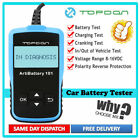12V Car Battery Load Tester Charging System Analyzer Auto Diagnostic Scan Tool