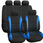 9pcs Universal Auto Car Seat Covers Anti Slip Seat Covers Protectors Full Set