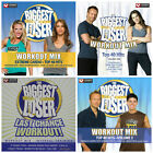 4 used THE BIGGEST LOSER CDs LOT hitscardioworkout mixexercise fitness music