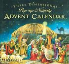 Advent Calendar Christmas Countdown Pop Up Nativity Scene 24 Hidden Doors Decor