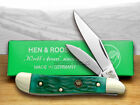 HEN  ROOSTER AND Green Pickbone Peanut Pocket Knives Knife