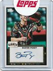 2011 TOPPS LINEAGE 1952 BUSTER POSEY AUTOGRAPH AUTO ROOKIE CARD RC GIANTS MINT U